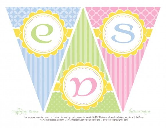 free-happy-easter-printable-banner   – Ostern  2