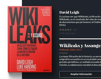 """Check out new work on my @Behance portfolio: """"UX - UI interfaz de usuario, librería online."""" http://be.net/gallery/48138965/UX-UI-interfaz-de-usuario-libreria-online"""