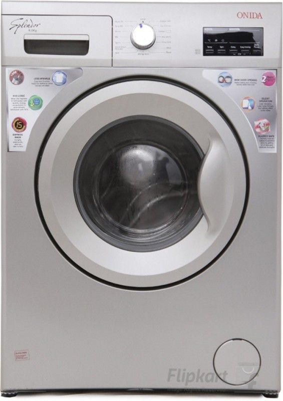 Onida 6 kg Fully Automatic Front Load Washing Machine Silver(WOF6510PS) Price, Review, Specification, Images and Features. Also Check Price Comparison on the different website like Flipkart, Amazon, Shopclues etc.