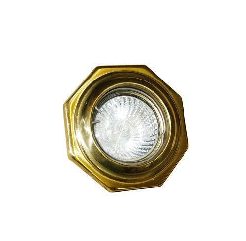 Manufactured in Ireland, this quality brass light recessed spotlight is ideal for use in modern and traditional interiors alike.