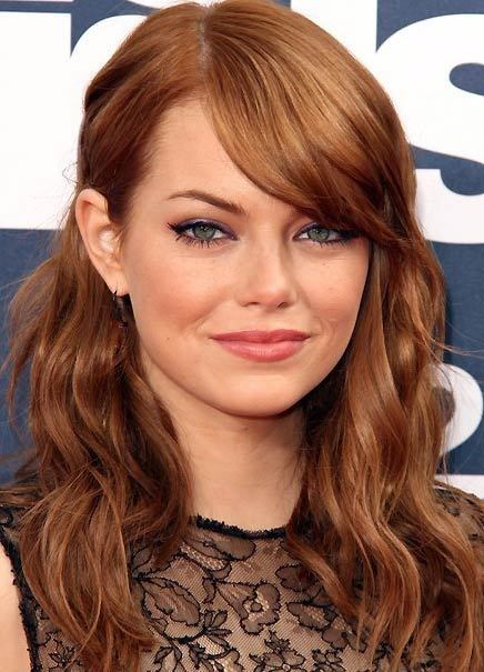 Emma stone, perfect hair colour