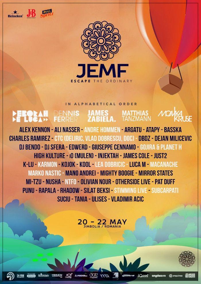 """JEMF 2016 - JEMF revine în atenția publicului cu a patra ediție și cu un line-up care te face să spui: """"Vino Mai, mai repede, vrem să ajungem la JEMF."""""""