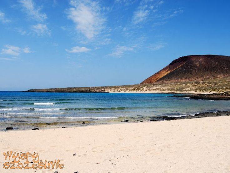 Playa del Salado na wysepce La Graciosa