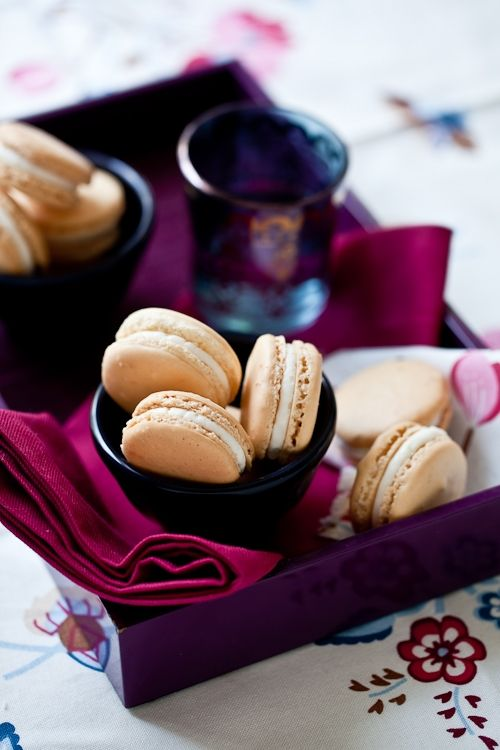 Grapefruit and Anise Macarons (recipe)