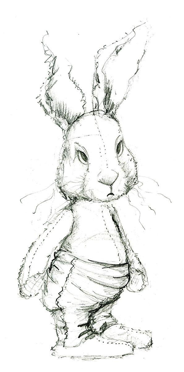 Unhappy rabbit