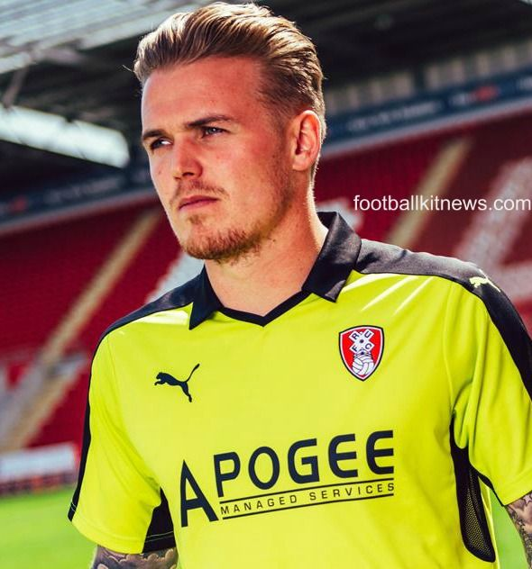 After unveiling their new home and away kits last month, Rotherham United have today (June 9, 2016) followed it up with the release of their third kit for the upcoming Championship season. Made by …