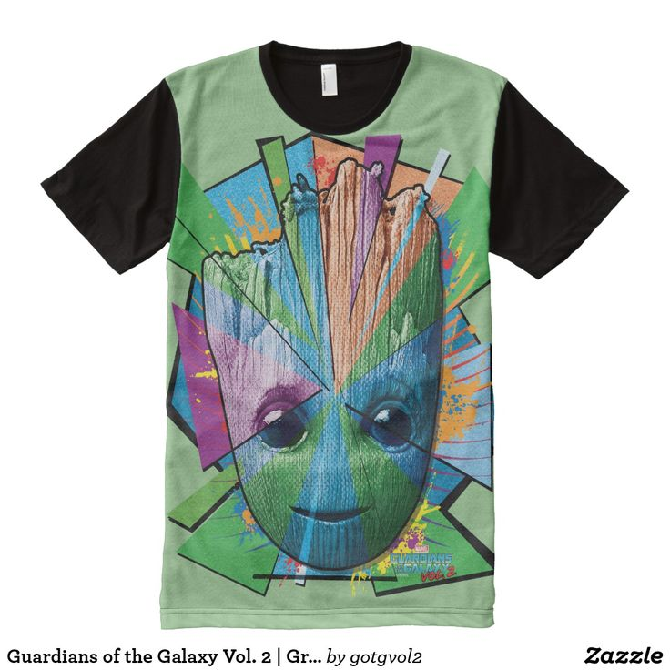 Guardians of the Galaxy Vol. 2 | Groot Color Blast All-Over-Print T-Shirt
