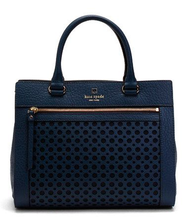 Another great find on #zulily! French Navy Romy Perri Lane Bubbles Tote by Kate Spade #zulilyfinds