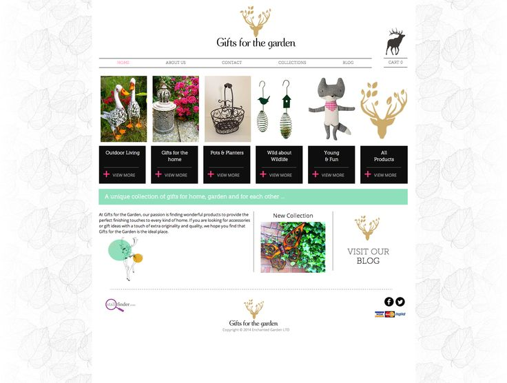 Gifts For The Garden website