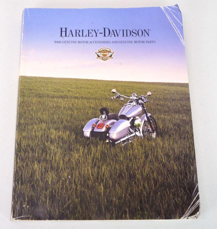 2000 Harley Davidson Motorcycles Genuine Motor Accessories & Parts Large Catalog