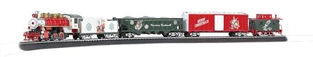 Bachmann HO 00741 A Norman Rockwell Christmas Train Set | ModelTrainStuff.com