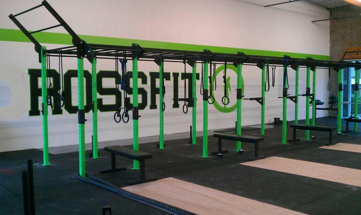 Monkey Bar Rig Gym Design Gym Interior Diy Gym