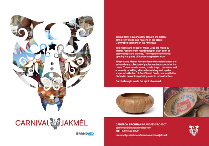 Carnival Jakmel Postcard created by TBWA Miami