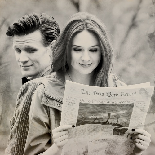 karen gillian | matt smith