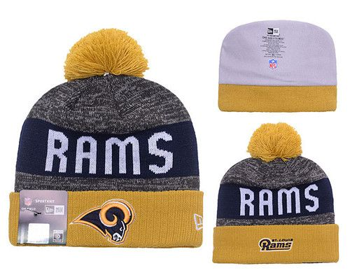 NFL Los Angeles Rams Stitched Knit Beanies 006