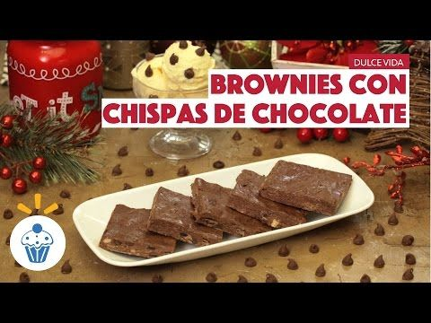 ¿Cómo preparar Brownies con Chispas de Chocolate? - Cocina Fresca - YouTube