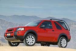 2004 Land Rover Freelander Profile