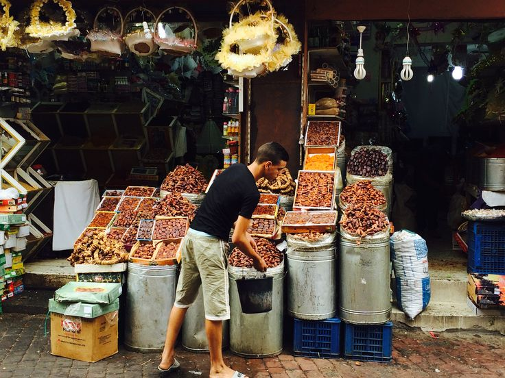 Dates and dried fruit, Medina, Marrakech