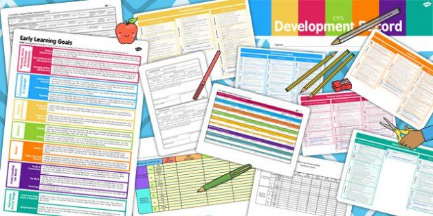 EYFS Tracking and Assessment Pack - eyfs, tracking, assessment