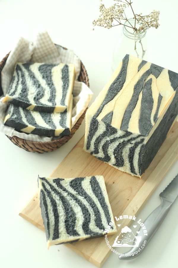 Nasi Lemak Lover: Zebra Patches Bread Loaf 斑马花紋土司
