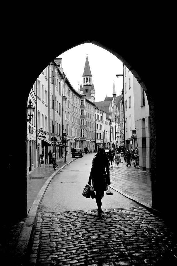 """Munich Street"" by nicken 