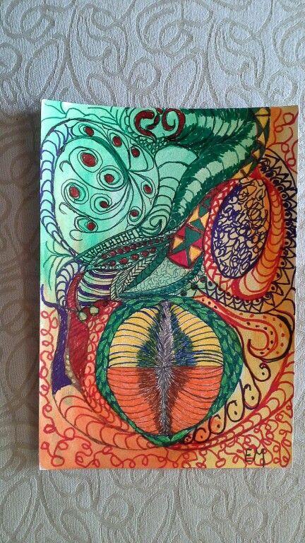 Artober doodling