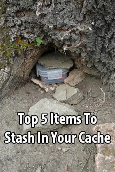 In case you don't know, a survival cache is a container filled with supplies and placed in a safe location where only you can find it. But what goes in it?