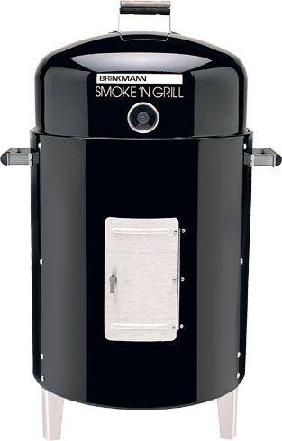 Smoke'N Grill Charcoal Smoker & Grill (810-5301-C)   Brinkmann