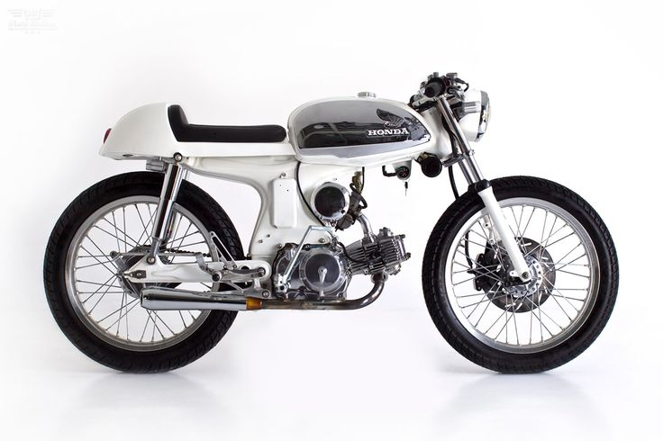 Honda Sport 90 cafe Racer by Deus Ex Machina via Moto Rivista
