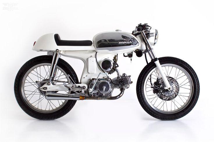 Honda Sport 90 cafe Racer by Deus Ex Machina via Moto Rivista