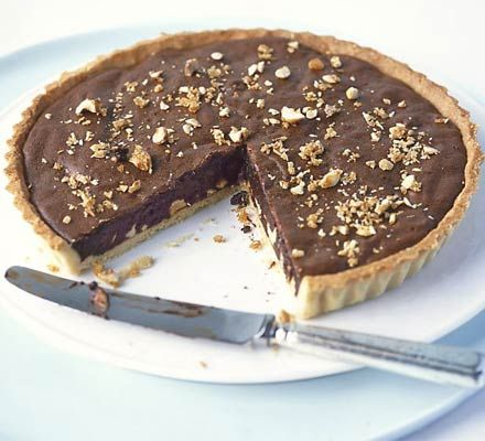 A pure, unadulterated chocolate hit, made extra-special with crunchy hazelnut praline