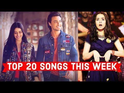 top 20 songs this week hindi