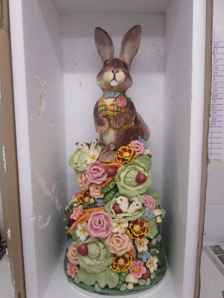 1089 Best Bunny Cakes Images On Pinterest Baby Cakes