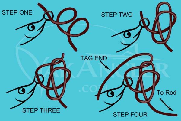 Best 25 best fishing knot ideas on pinterest tying for Good fishing knots