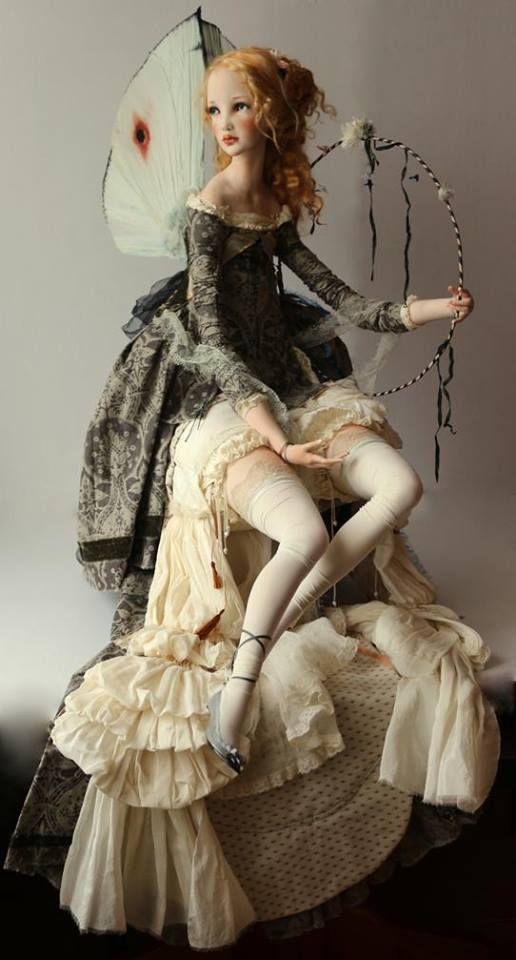 Artist art doll by Alisa Filippova