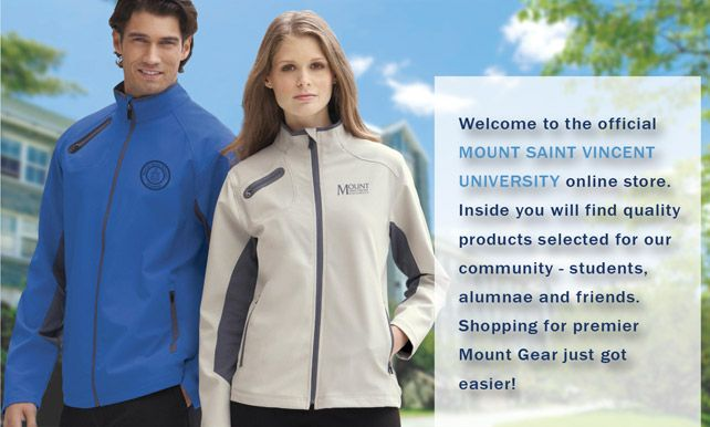 Shop online at the Mount Saint Vincent University eStore