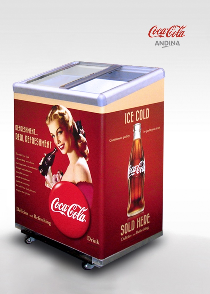 Coca Cola (Andina) Vintage - Diseño Feria 2012 para Specialty Food, Summer Fancy Food Show en New York