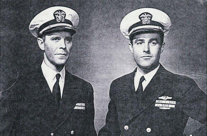 Herbert and Sargent Shriver