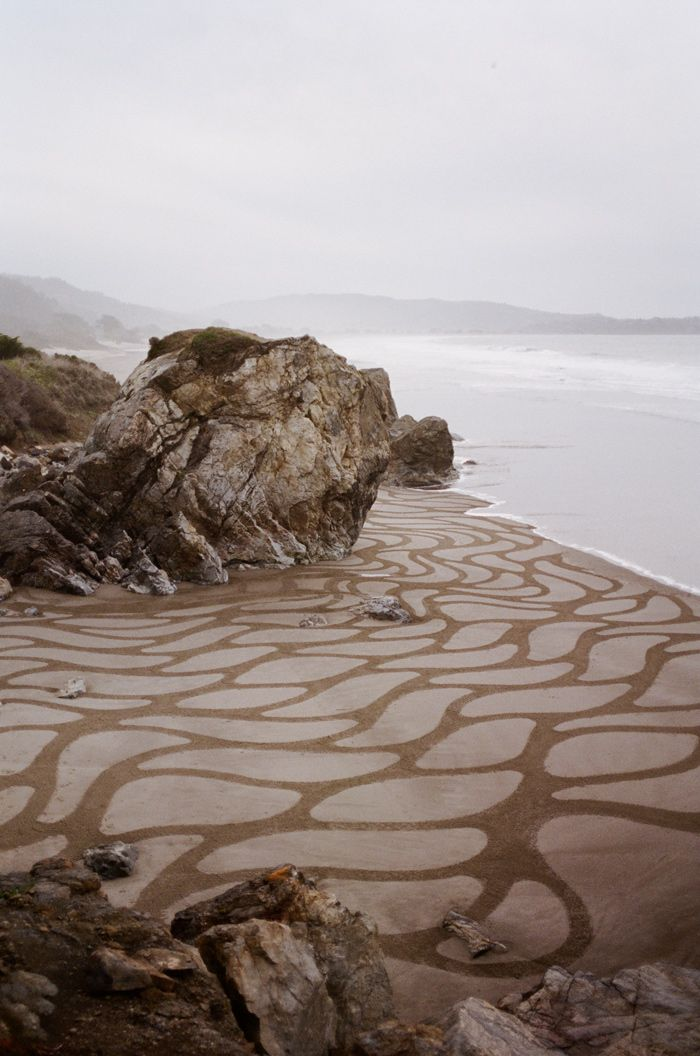 Andres Amador. Lines in the Sand. For Kinfolk Magazine Saltwater Issue.