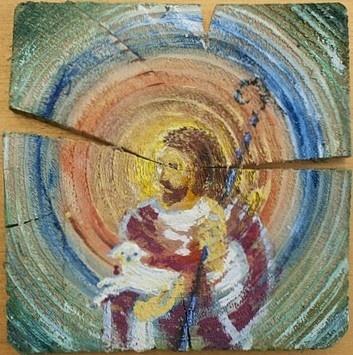 Jezus z owieczką / Jesus with lamb