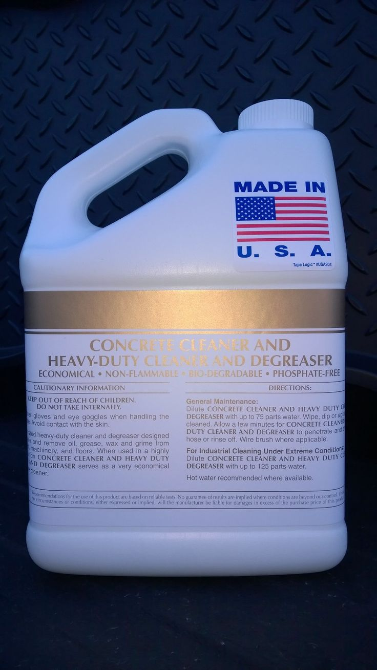 Concrete cleaner heavy duty cleaner degreaser concentrate for Non toxic concrete cleaner