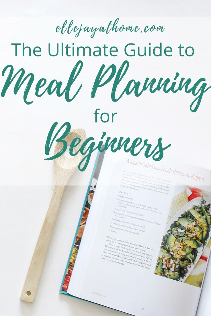 The Ultimate Guide to Meal Planning for Beginners