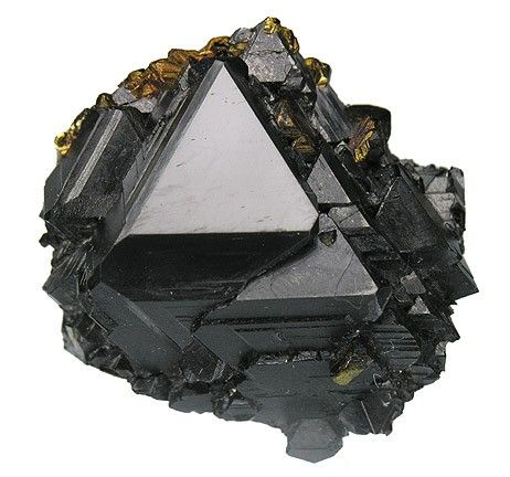 Sphalerite ((Zn,Fe)S) is a mineral that is the chief ore of zinc. It consists largely of zinc sulfide in crystalline form but almost always contains variable iron