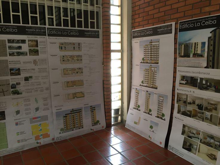 """Entrega """"Diseño arquitectónico de vivienda multifamiliar en el barrio la ceiba, Cùcuta"""" en convenio Constructora Gamboa&Ramirez Arq e Ing Ltda y UFPS Cùcuta.  Con Yanelly R-J"""
