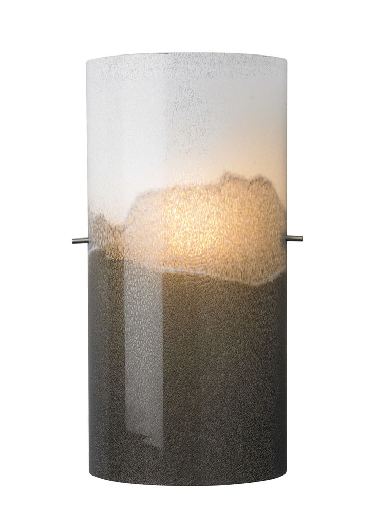 The dahling wall sconce light by lbl lighting has a translucent glass shade featuring thousands of