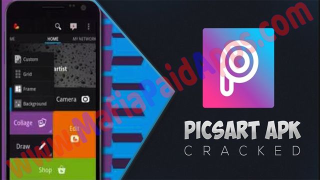 PicsArt Photo Studio Full 9.27.4 Premium Unlocked Mod Apk for android   PicsArt Social Photo Editor is a photography app for android  Download last version ofPicsArt Social Photo EditorApk Premium Unlocked for android from MafiaPaidApps with direct link  PicsArt is an app that lets you edit your pictures in many different ways.  #1 all-in-one photo editor drawing collage maker and photo sharing app!  450 million installs strong PicsArt is the #1 photo editor and pic collage maker on mobile.