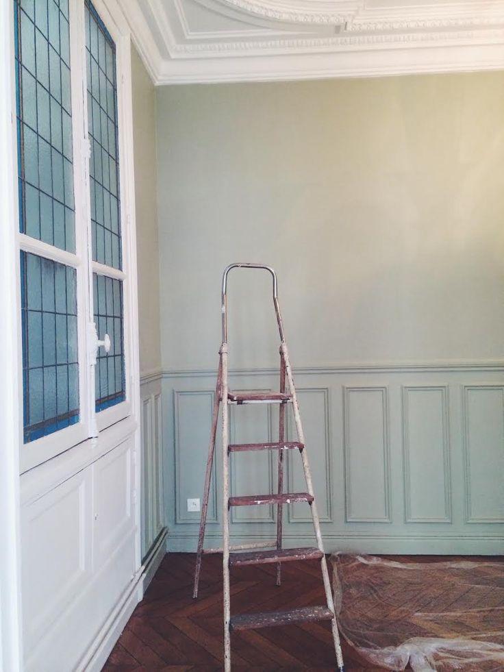 60 best AT HOME    CHEZ MOI images on Pinterest Apartments - apprendre a peindre un mur