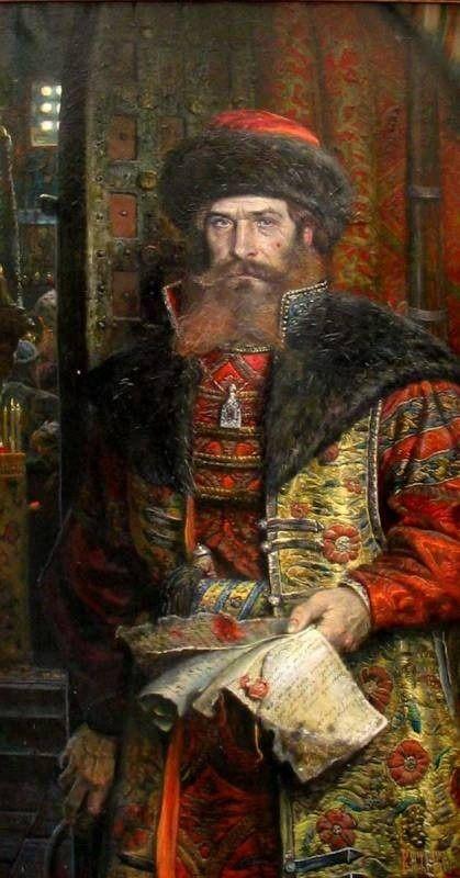"russianculture: "" Portrait of Malyuta Skuratov by Pavel Ryzhenko """
