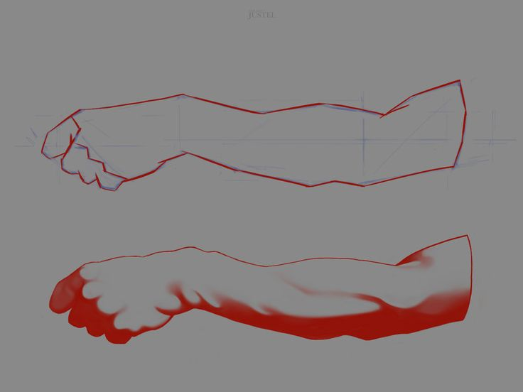 Bargue - Anatomy 2013 - 2D Version - Arm