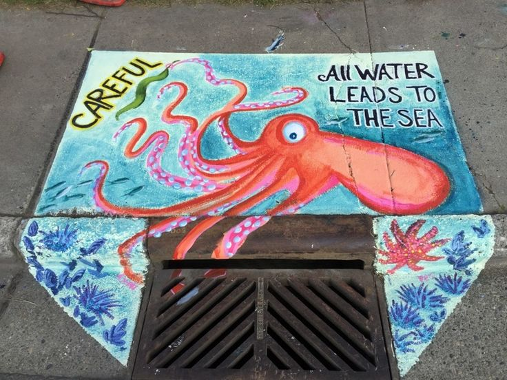 Best Stormwater Art Images On Pinterest Murals Storms And - Clever free bird see graffiti spotted in chicago leads to a creative surprise